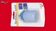 Csapózsínor festék kék