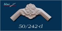 Szegfű 50 fali, mennyezeti díszes ív díszítőelem
