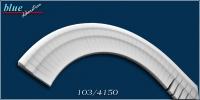 Bálint 103 belső ívre hajlítható díszléc