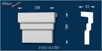 Bálint 103-DF ablak középdísz