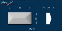 Avitus DT-3 ablak sordíszek Félix