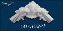 Dália 59 fali, mennyezeti díszes ív díszítőelem