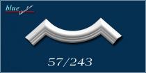 Nárcisz 57 fali, mennyezeti ív díszítőelem