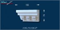 Lehel 106-P bal oldali ablak véglezárás