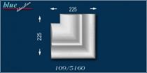 Szilárd 109 ablak külső sarokelem
