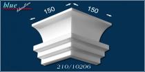 Margó 210 díszléc külső sarokelem