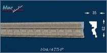 Roland 104-P kérgesített kültéri díszléc