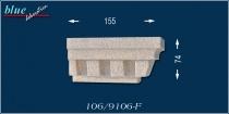 Jakab 106-F kérgesített jobb oldali ablak véglezárás